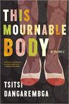 cover: dangarembga mournable body